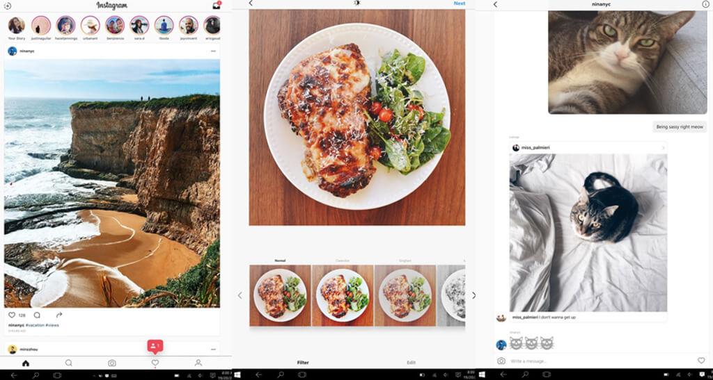 Instagram Windows Desktop App